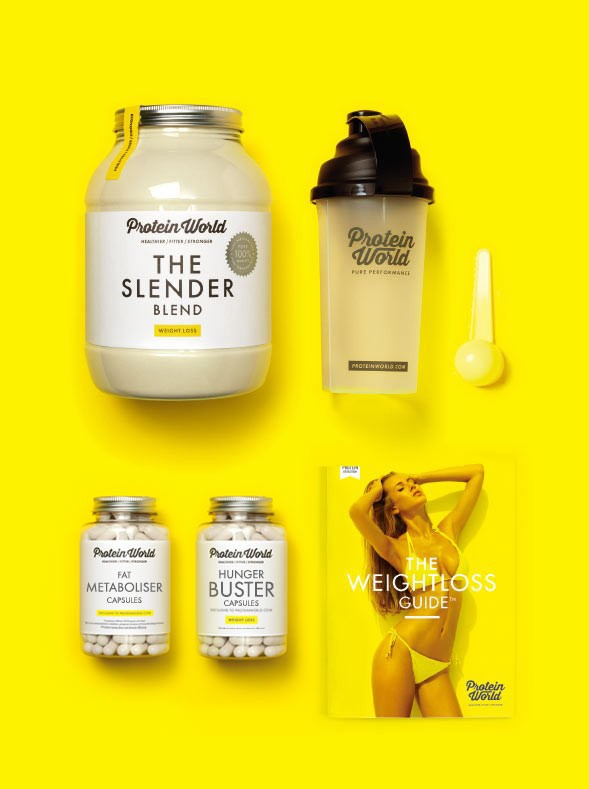 Slender Blend is a key component in Protein World's Weight Loss Collection (it is also sold alone)