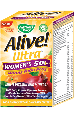 Nature S Way Alive Ultra Women S 50 Wholefood Plus Review Supplement Reviews Uk