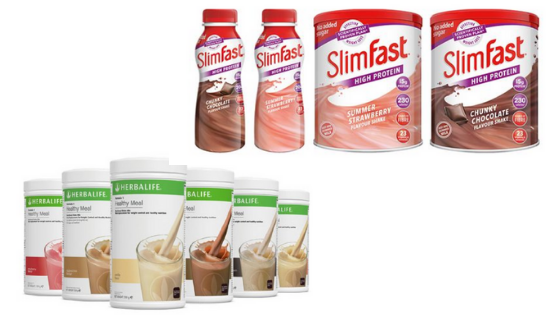 Slimfast Vs Herbalife The Battle Of The Meal Replacement Giants
