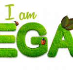 I am vegan sign