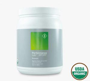 Performance Lab organic vegan protein powder