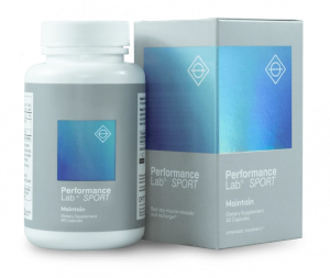 Performance Lab SPORT Maintain is designed to provide nourishment for the muscles during your rest days